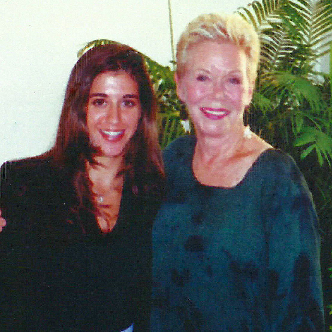 Louise Hay and Marnie Greenberg