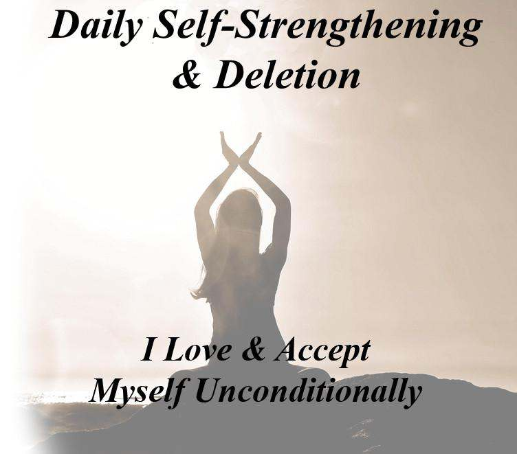 Self Strengthening and Delete Activation Audio with Marnie Greenberg