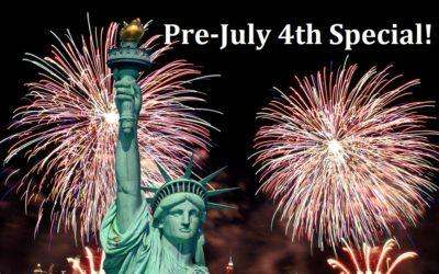 Pre-July 4th Special – Claim Your Independence and Make Your Dreams a Reality