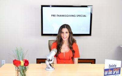 Pre-Thanksgiving Special – Delete The Blocks To Abundance