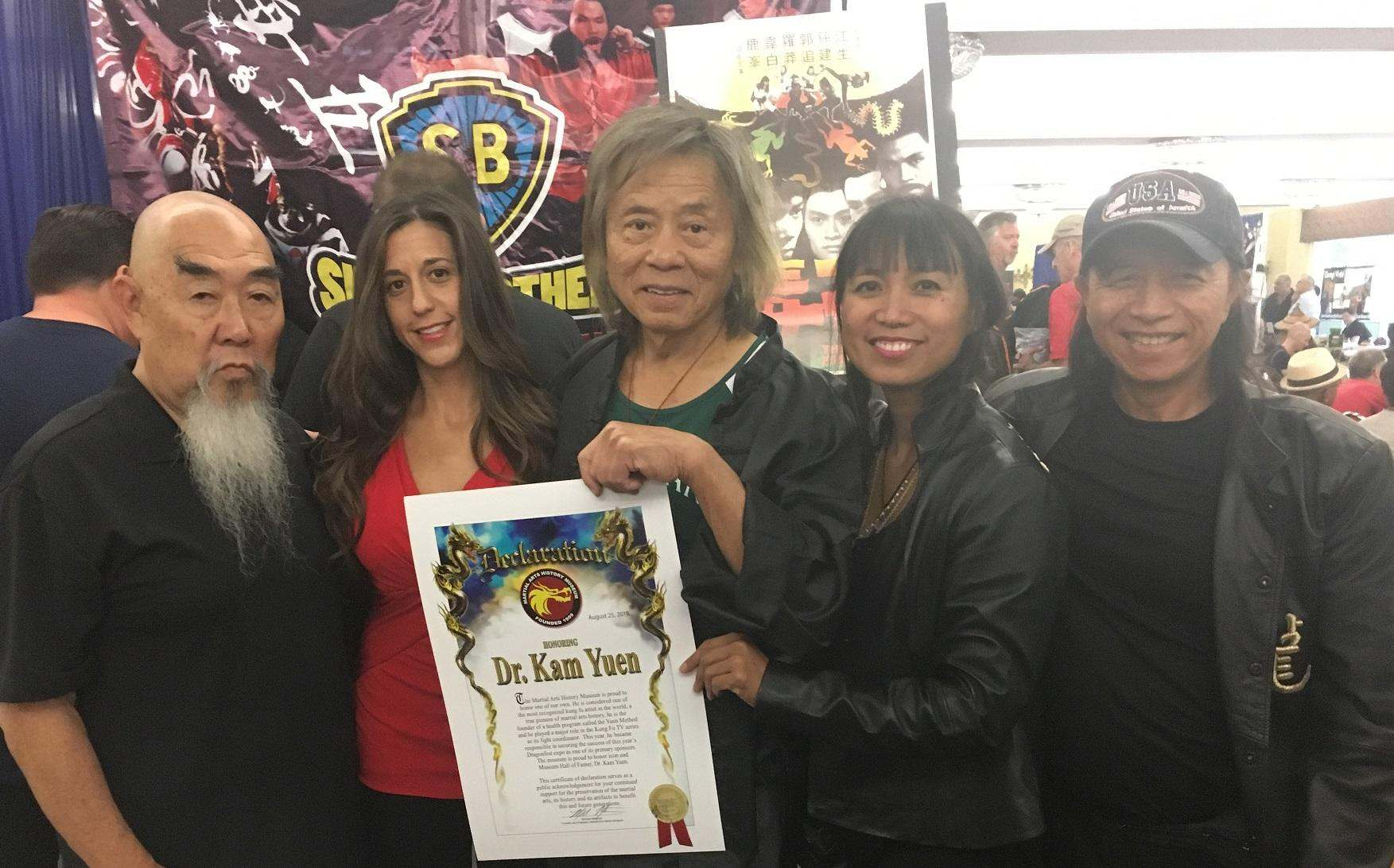 Gerald Okamura, Marnie Greenberg, Dr Kam Yuen, KIck ass woman, and other ​Lee