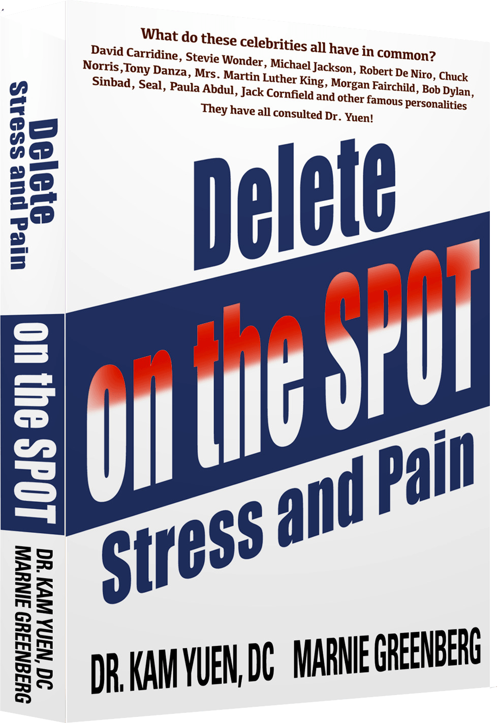 Marnie Greenberg Delete Stress and POain On The Spot