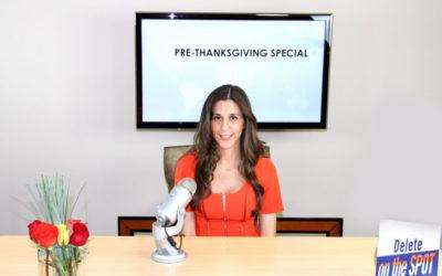 Pre-Thanksgiving Special! Delete Your Blocks To Abundance