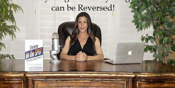 Marnie Greenberg at her desk